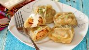 Фото рецепта Манты с куриным фаршем и паприкой