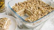 Фото рецепта Торт из печенья и сметаны