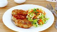 Фото рецепта Колбаски из свинины жареные