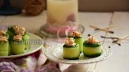 Фото рецепта Огуречные роллы с креветками