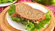 Фото рецепта Сэндвич с красной рыбой