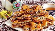 Фото рецепта Пахлава медовая с шоколадом