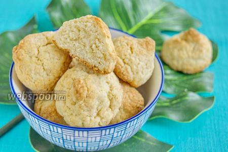 Печенье «Кокосанка» с мукой