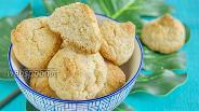 Фото рецепта Печенье «Кокосанка» с мукой