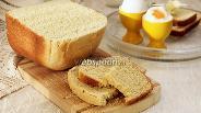 Фото рецепта Пшенично-кукурузный хлеб в хлебопечке