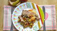 Фото рецепта Азу в горшочке