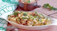 Фото рецепта Картошка со сметаной и чесноком