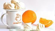 Фото рецепта Зефир апельсиновый