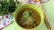 Фото рецепта Суп с фунчозой