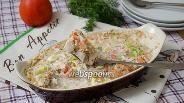 Фото рецепта Окунь запеченный в сметане