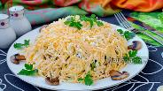 Фото рецепта Салат «Грибы под шубой»