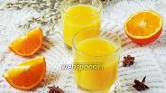 Фото рецепта Кисель из апельсинов
