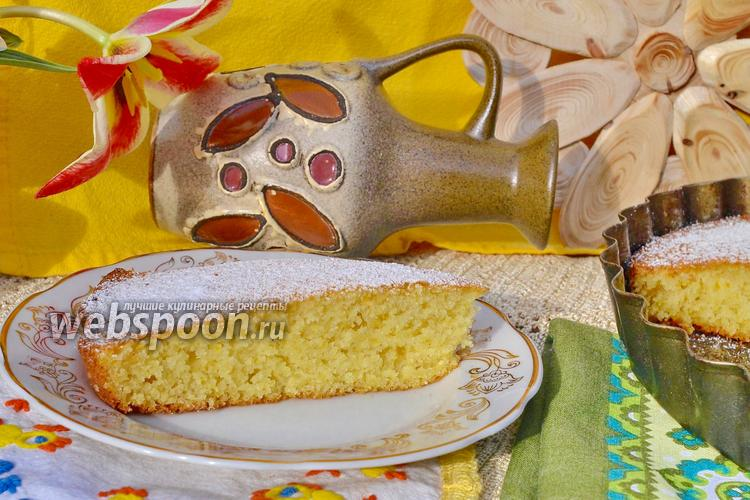 Фото Кукурузный пирог «Богач»