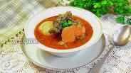 Фото рецепта Шурпа из баранины