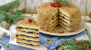 Фото рецепта Песочный торт с джемом