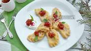 Фото рецепта Вареники с яблоками