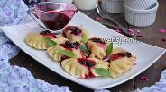Фото рецепта Вареники со смородиной