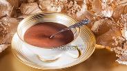 Фото рецепта Классический горячий шоколад из тёртого какао