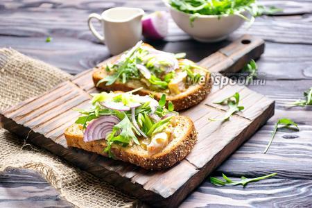 Датский открытый сэндвич