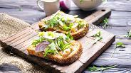 Фото рецепта Датский открытый сэндвич