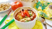 Фото рецепта Запеканка из баклажанов и помидор