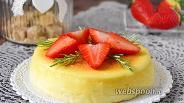 Фото рецепта Чизкейк-суфле с белым шоколадом