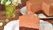 Фото рецепта Шоколадный сметанник