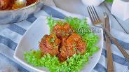 Фото рецепта Гречаники в томатном соусе