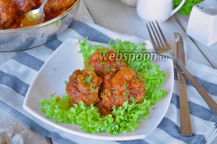 Фото Гречаники в томатном соусе