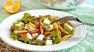 Фото рецепта Салат из редиса и моркови