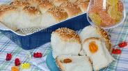 Фото рецепта Булочки с мармеладом