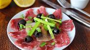 Фото рецепта Карпаччо из говядины
