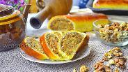 Фото рецепта Рулет с ореховой начинкой