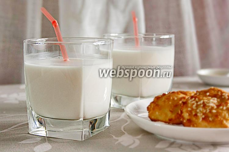 Фото Кунжутное молоко