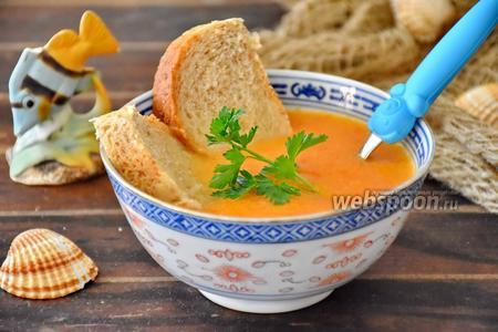 Фото рецепта Буйабес для детей — «рыбный суп мадам Жорж»