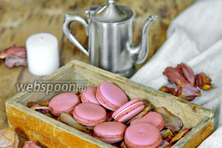 Фото Macarons на швейцарской меренге