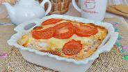Фото рецепта Запеканка из минтая с рисом