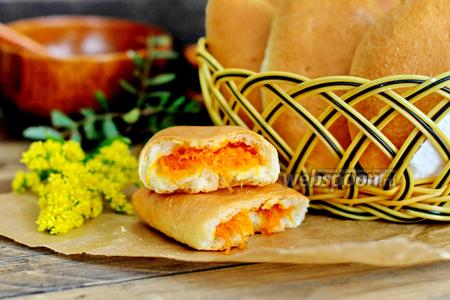 Фото рецепта Пирожки с морковкой