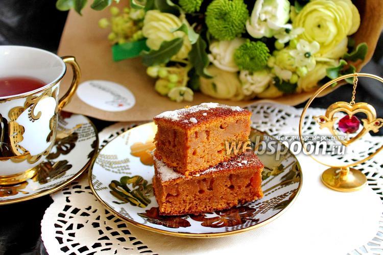 Фото Карамельный пирог