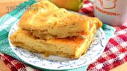 Фото рецепта Заливной пирог с яблоками