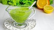 Фото рецепта Соус с кинзой и апельсиновым соком
