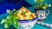 Фото рецепта Салат из квашеных яблок
