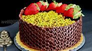 Фото рецепта Шоколадно-апельсиновый торт