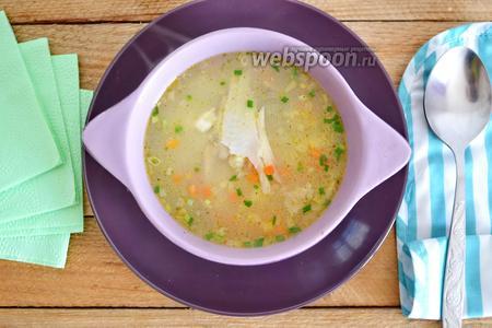 Фото рецепта Суп из камбалы