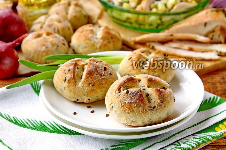 Фото Зерновые булочки