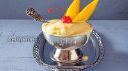 Фото рецепта Мороженое манго-маракуйя