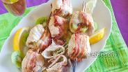 Фото рецепта Шашлык из индейки с киви