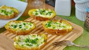 Фото рецепта Картофельные шкурки (Potato Skins)