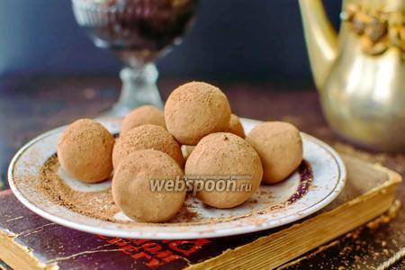 Фото рецепта Шоколадные трюфели