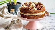 Фото рецепта Шоколадный торт с безе
